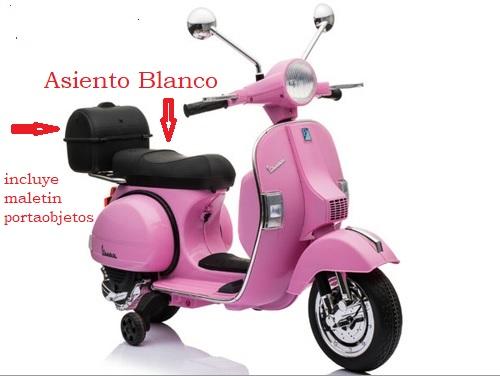 cual es la mejor moto electrica rosa para una niña