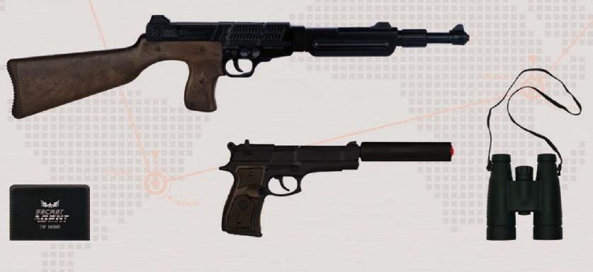 pistola agente width=