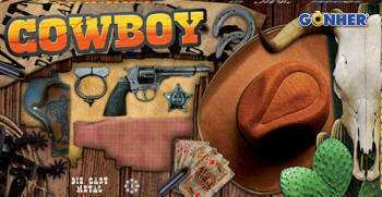 SET COW-BOY CON SOMBRERO
