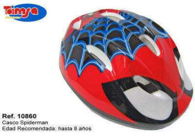 CASCO BICICLETA SPIDERMAN