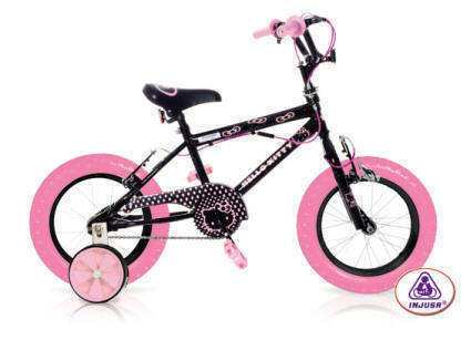 "BICI HELLO KITTY BLACK 12"" 99,90 €"