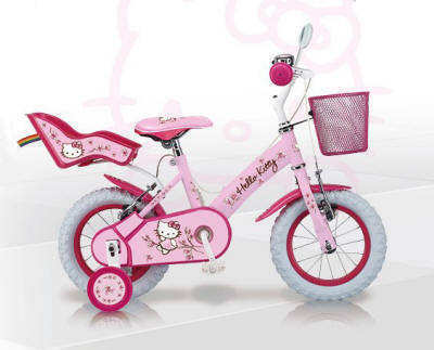 Bicicleta Hello Kitty Romantic 12""