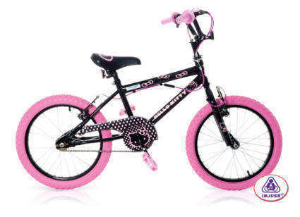 "BICICLETA HELLO KITTY NEGRA 16""  117.50 €"