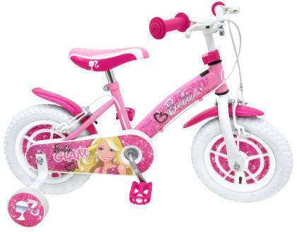 Bici Barbie Glam Diamante 12""