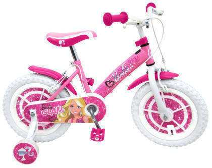 BICI BARBIE GLAM DIAMANTE 14""