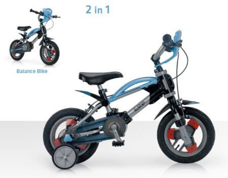 Bicicleta Elite 12 Blue 2 en  1