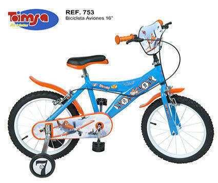 "Bicicleta Infantil Aviones Disney 16"" IMAGE"