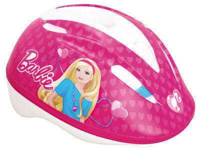 CASCO BARBIE CORAZONES
