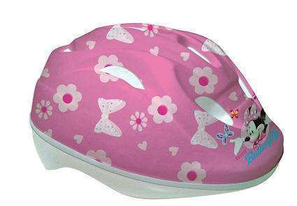 CASCO MINNIE MOUSE ROSA