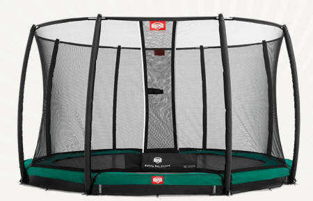 CAMA ELASTICA BERG INGROUND CHAMPION 270 + SAFETY NET DELUXE
