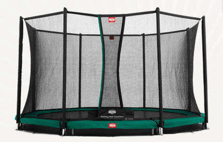 CAMA ELASTICA BERG INGROUND FAVORIT 380 + SAFETY NET COMFORT