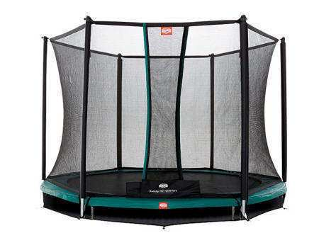 CAMA ELÁSTICA BERG INGROUND TALENT 180 + SAFETY NET COMFORT
