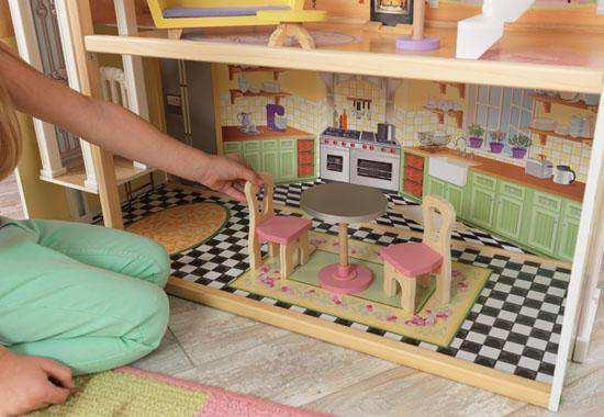 Detalle de la cocina Kidkraft casa de muñecas 65869 kayle width=