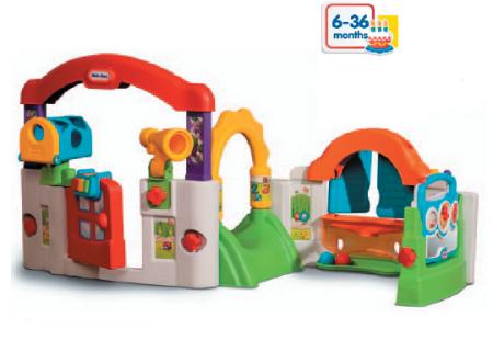 Centro de actividades inforchess for Casita exterior infantil