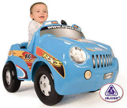 COCHE NI�O BIG BOY 6V INJUSA