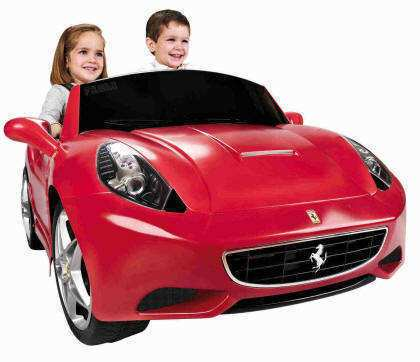 Coche electrico ferrari california 2 plazas Inforchess