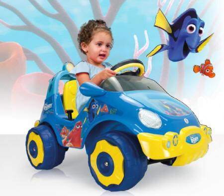 Coche Bubble Racer Finding Dory 6V