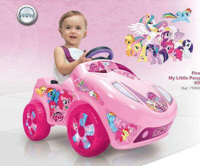 Coche Fire My Little Pony 6V IMAGE