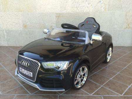 Pekecars Audi RS5 12V color Negro
