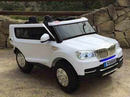 BMW X5 STYLE BLANCO LATERAL DERECHO width=