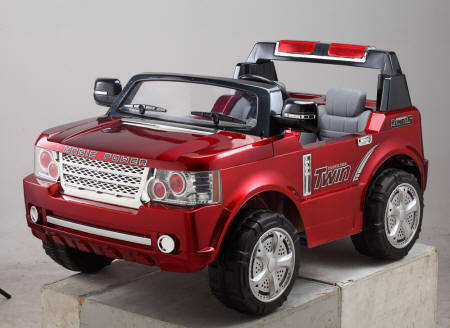 Pekecars Land Rover Style Granate 24V IMAGE