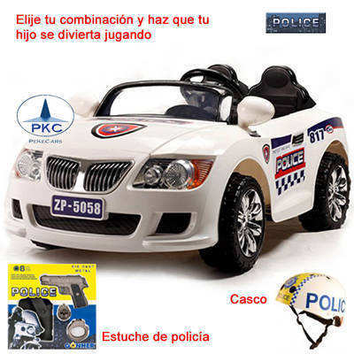 Coche Electrico BMW Police Style 12V RC IMAGE