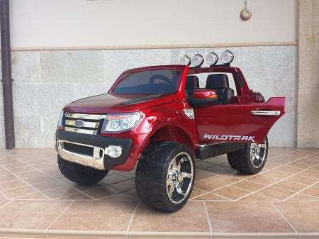 Ford Ranger Pick Up Burdeos 12V Pekecars