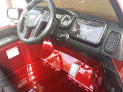 Ford Ranger Pick Up Burdeos 12V Salpicadero Pekecars