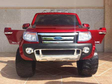 Ford Ranger Pick Up Burdeos 12V Frontal Pekecars