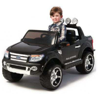 Ford Ranger Pick Up Negro 12V infantil Pekecars