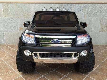 Ford Ranger Pick Up Negro 12V Frontal Pekecars