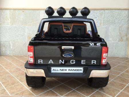 Ford Ranger Pick Up Negro 12V Trasera Pekecars