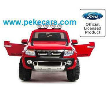FORD RANGER ROJO FRONTAL