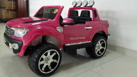 Pekecars Ford Ranger Pick Up Rosa 12V 2.4G