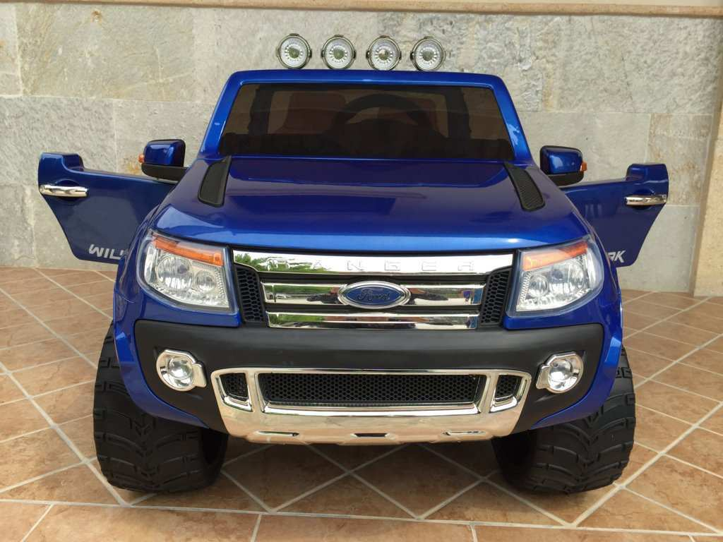 FORD RANGER AZUL METALIZADO FRONTAL