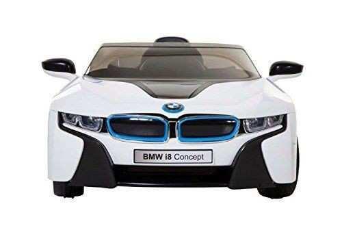 bmw i8 blanco frontal