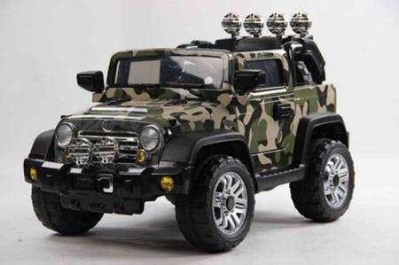 Jeep Wrangler Style 12v Camuflaje Para Ni 241 Os Inforchess