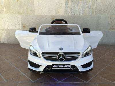 MERCEDES CLA45 BLANCO FRONTAL