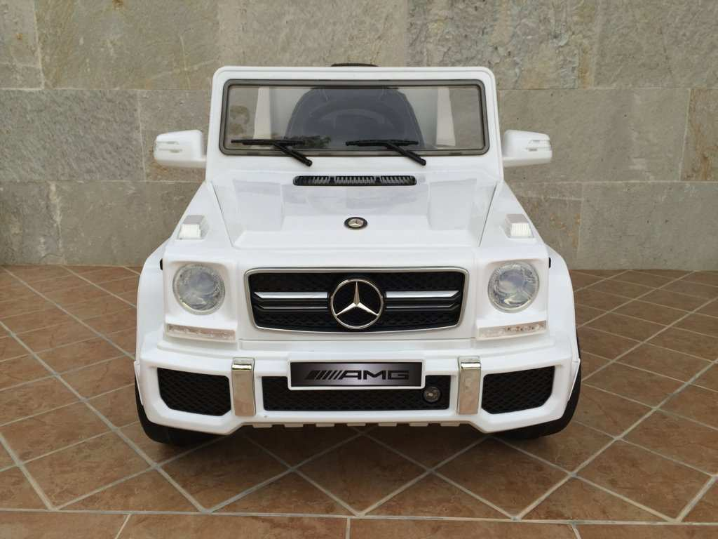 MERCEDES G63 BLANCO FRONTAL