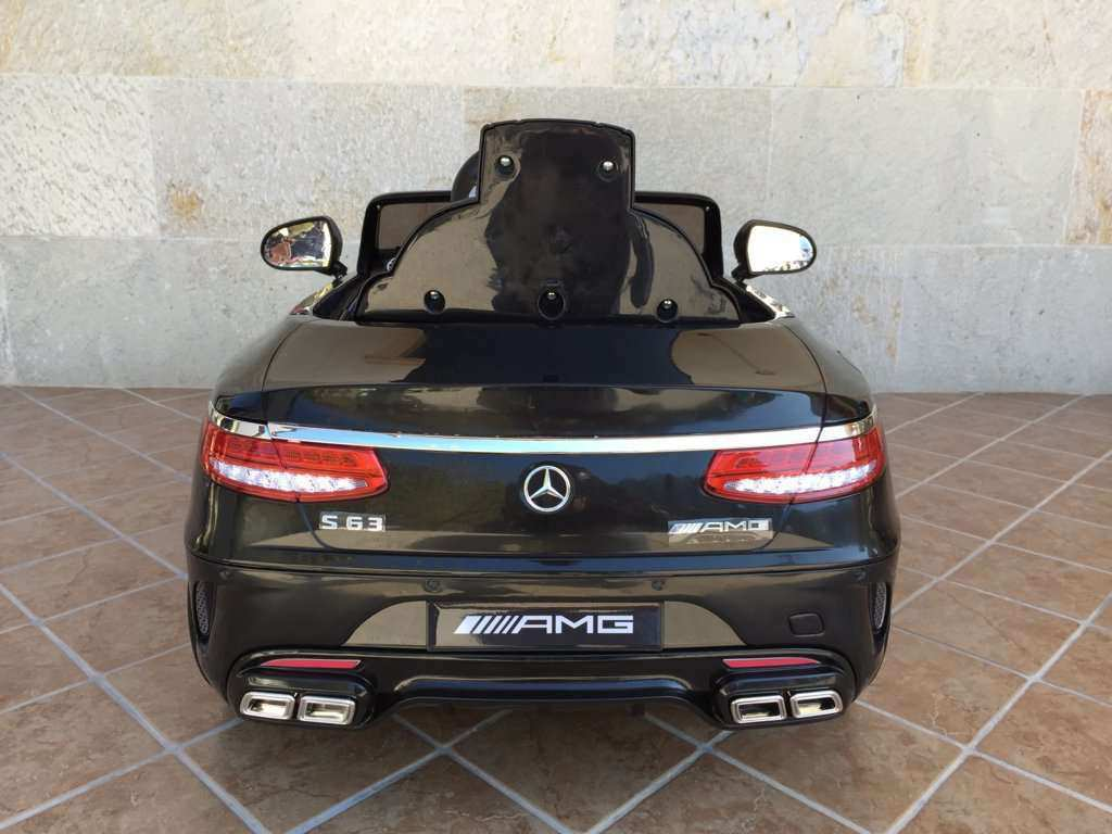 MERCEDES S63 NEGRO TRASERA width=