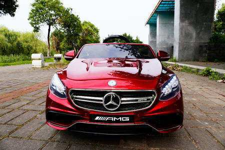 MERCEDES S63 ROJO FRONTAL