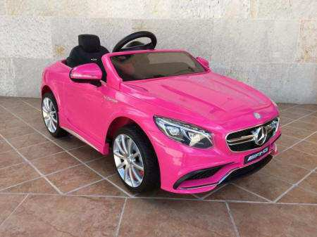 MERCEDES S63 ROSA LATERAL DERECHO