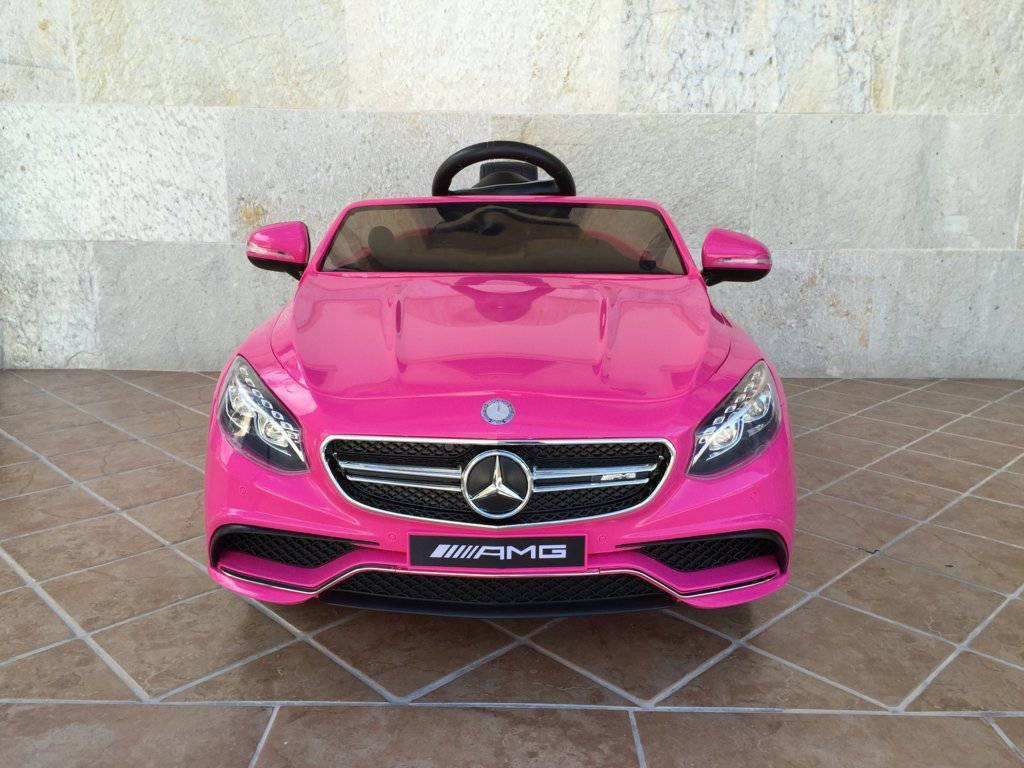 MERCEDES S63 ROSA FRONTAL width=