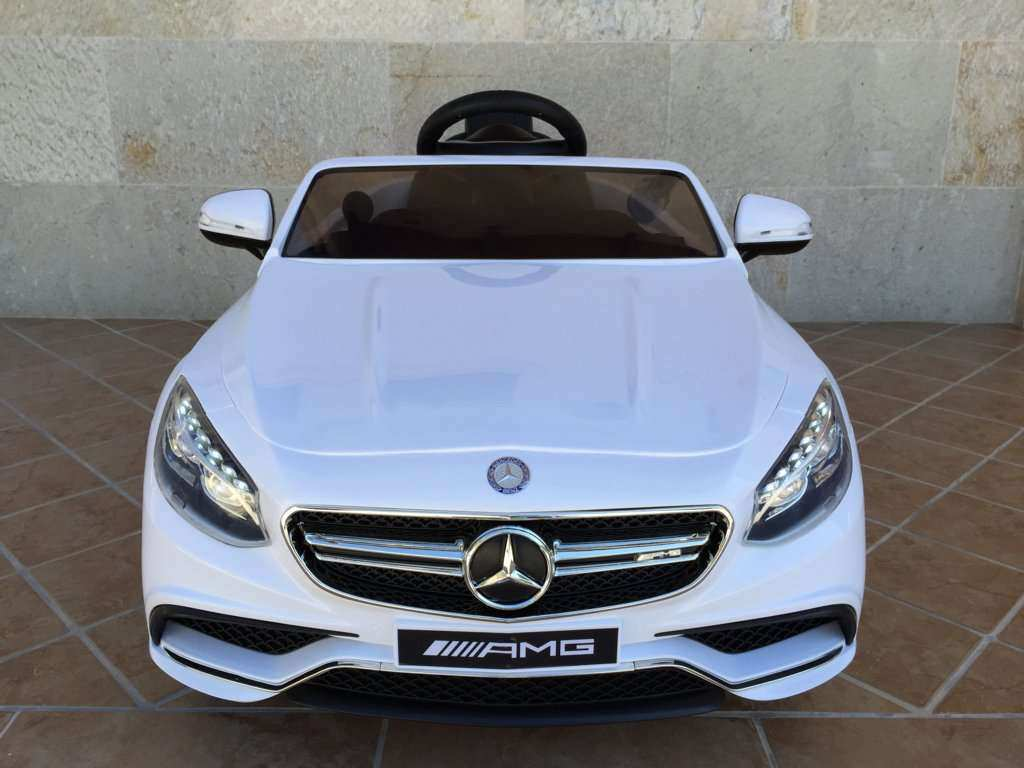 MERCEDES S63 BLANCO FRONTAL