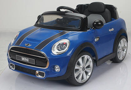 Pekecars Mini Hatch 12V Azul 2.4G