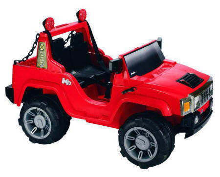 PEKECARS HUMMER SYTLE RED 12V 2P. RC IMAGE