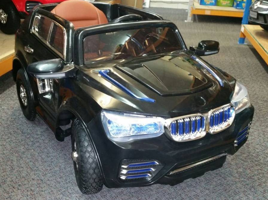 coche elctrico pekecars bmw x style v black super luxe comprar