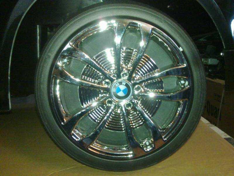 BMW X6 BLANCO LLANTA