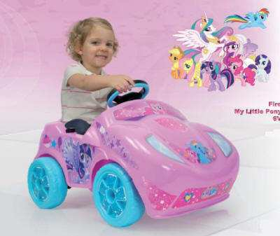 Coche Fire My Little Pony 6V