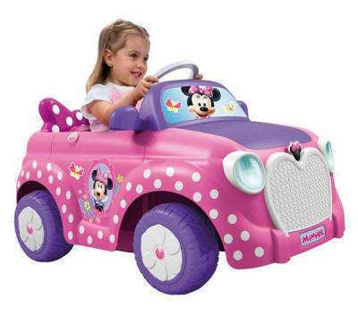 Coche minnie car 6V  IMAGE